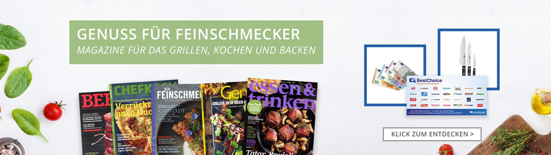 Essen, Kochen & Backen