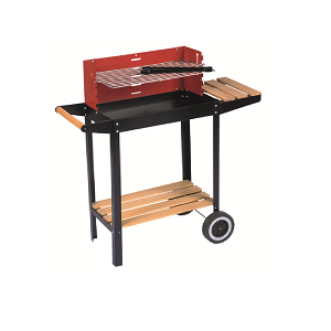 Barbecue Grill mit Rädern - BBQ